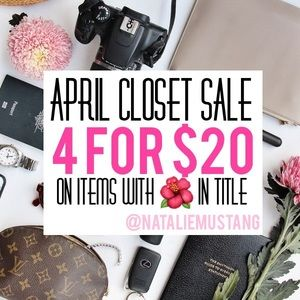 Other - 4/$20 CLOSET CLEANOUT! 🌺